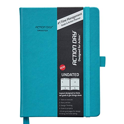 UNDATED Academic Planner 2021-2022 by Action Day 2021 - All-in-ONE Layout Design,to Do...