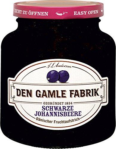 Den Gamle Fabrik - Fruchtaufstrich Schwarze Johannisbeere - 380g