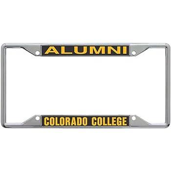Chrome Plated Wincraft University of Portland Pilots Premium License Plate Frame