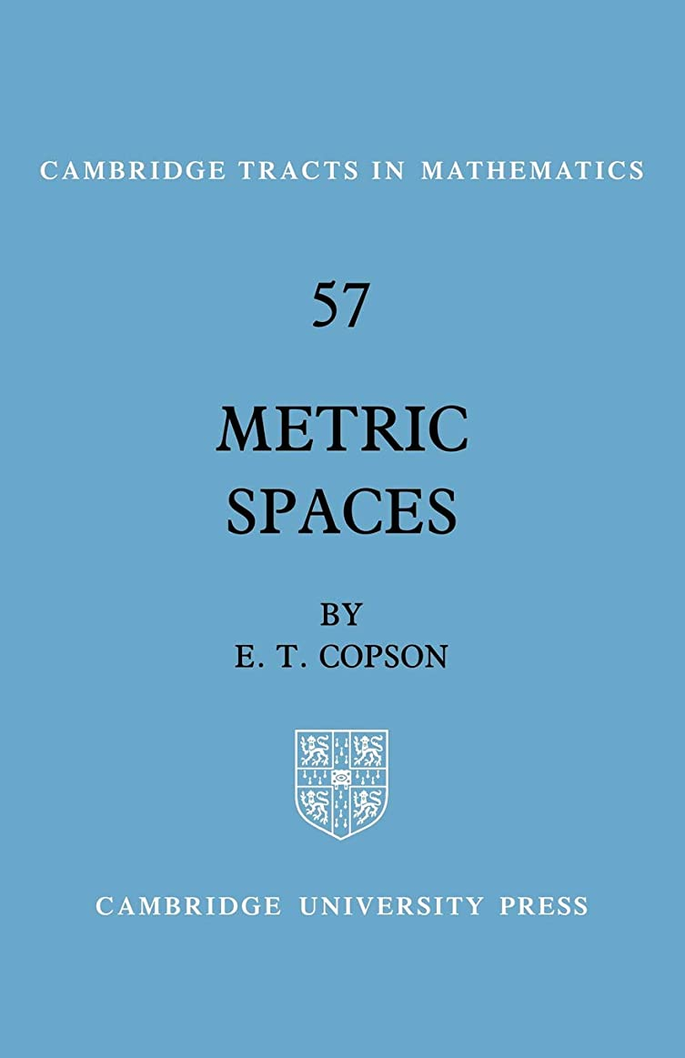 モンゴメリー用心深い祈るMetric Spaces (Cambridge Tracts in Mathematics)