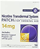 Nicotine Transdermal System Patch, Stop Smoking Aid, 14 Mg, Step 2, 28 Patches (2 Packs of 14 Patches)