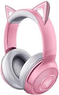 Razer RZ04-03520100-R3M1 Kraken BT Kitty Edition Headset, Quartz/Pink