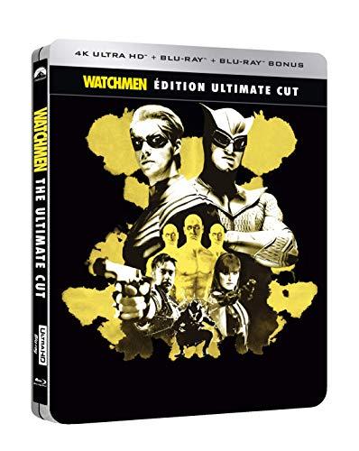 Watchmen-Les Gardiens [Édition Ultimate Cut-4K Ultra HD Blu-Ray Bonus + Goodies-Boîtier SteelBook]