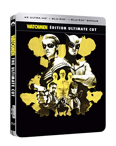 Watchmen - Les gardiens [Édition Ultimate Cut - 4K Ultra HD + Blu-ray + Blu-ray bonus + goodies - Boîtier SteelBook]