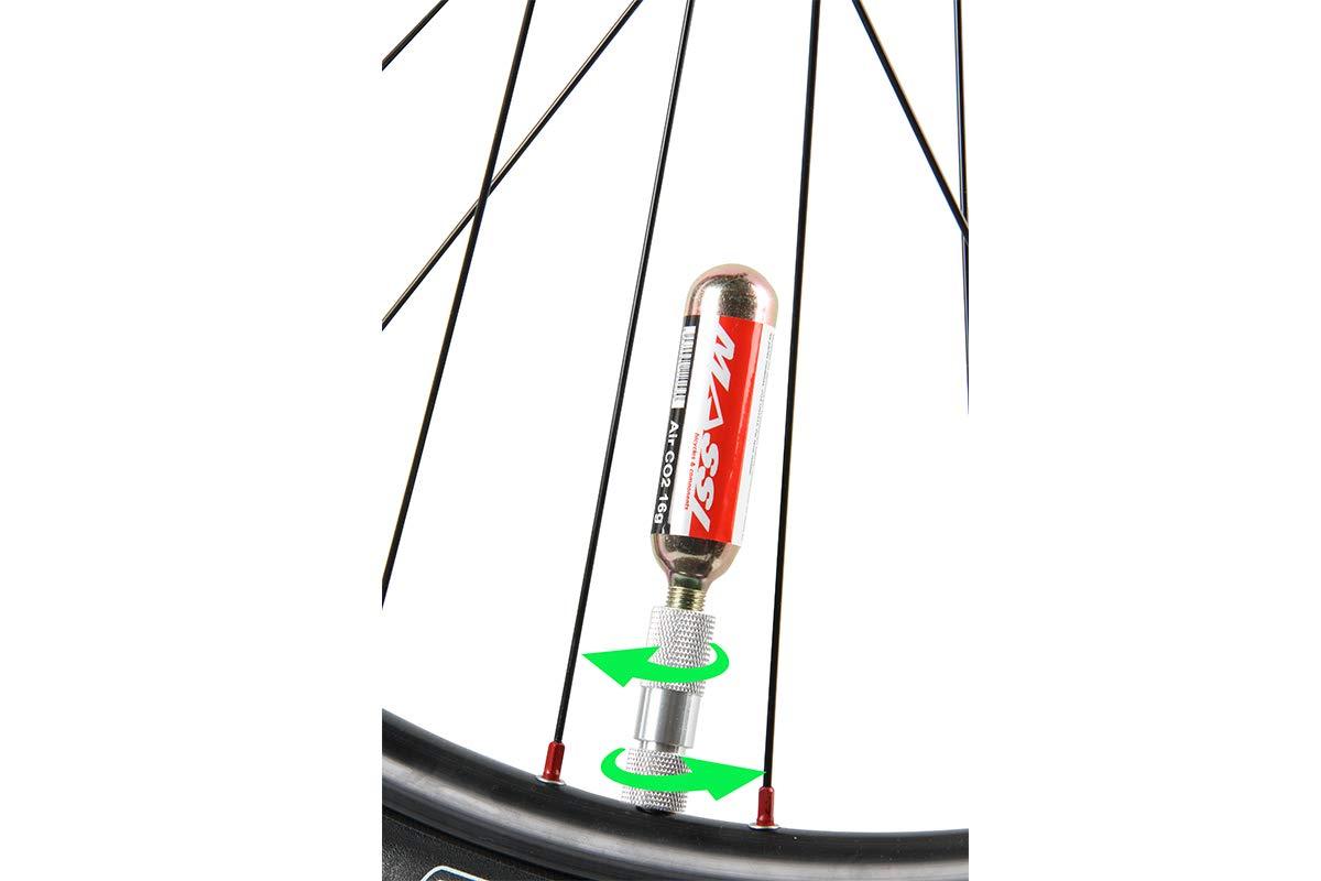 Massi Cartuchos Co2 para Bicicleta: Amazon.es: Deportes y aire libre