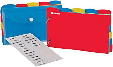 Best oxford just flip it note card organizer Reviews