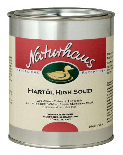 Preisvergleich Produktbild Naturhaus Hartöl High Solid 750 ml