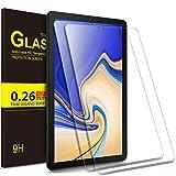 IVSO Samsung Galaxy Tab S4 10.5 SM-T830 (Wi-Fi)/SM-T835 (LTE) ガラスフィルム 新型 Samsung Galaxy Tab S4 10.5 SM-T830 タブレット 強化ガラスフィルム 【2枚セット】 NEWモデル 耐指紋 撥油性 表面硬度9H ラウンド加工処理 飛散防止処理 高透過率 光沢表面仕様 画面保護 保護シート - サムスン Galaxy Tab S4 10.5 SM-T835 専用 液晶保護フィルム