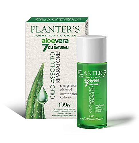 Planter's Olio Aloe Vera Absolute Repair, Standard, 50 Millilitri