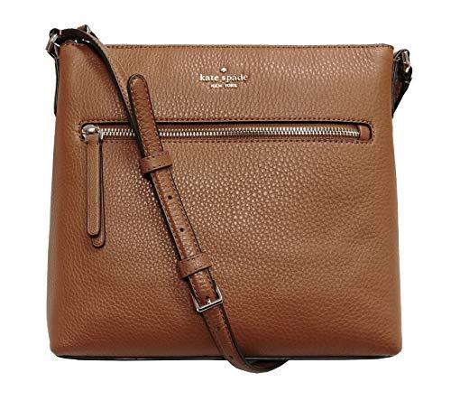 Kate Spade New York Jackson Top Zip Crossbody Bag Warm Gingerbread Brown, Large