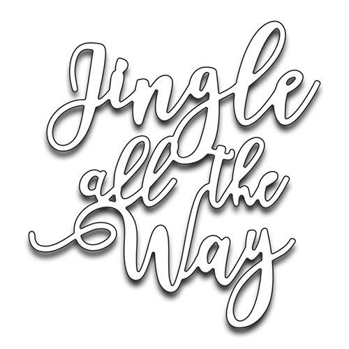 Penny Black Creative Metal die, 51-257,Jingle All The Way
