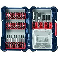 38-Piece Bosch Impact Tough Screwdriving Custom Case System Set