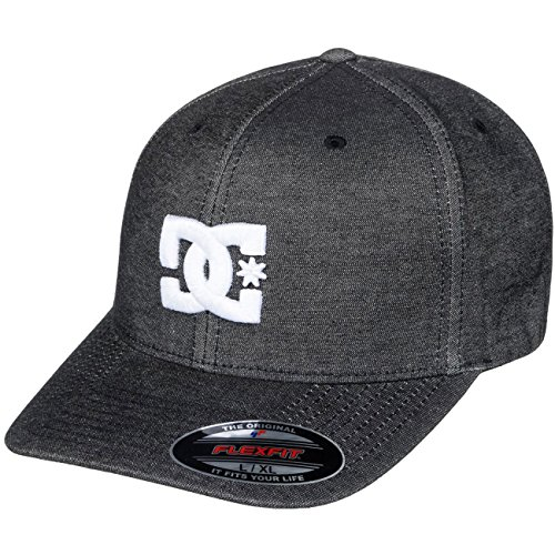 DC Apparel Herren Capstar TX Cap, Anthracite Solid, S/M