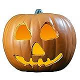 Horror Zucca con luce Halloween 2