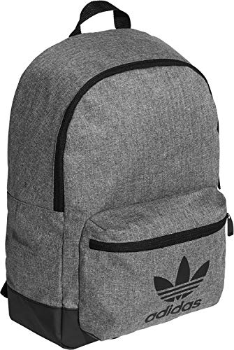 adidas Mel Classic BP Sports Backpack, Black/White, NS