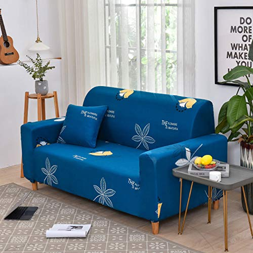 NOBCE Funda de sofá elástica de Color sólido para Sala de Estar Fundas de sofá de Esquina seccionales elásticas universales de Estilo L para sofá 145-185CM
