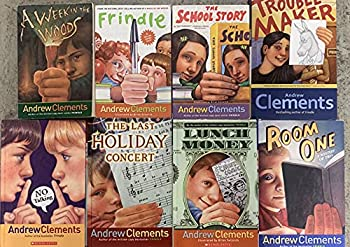Andrew Clements Fiction Collection 8 Book Set