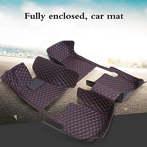 Floor mats for Frrari Portofino F8 California 458 488 GTC4Lusso 812 Superfast All-Weather Protection Waterproof Carpets Black Beige
