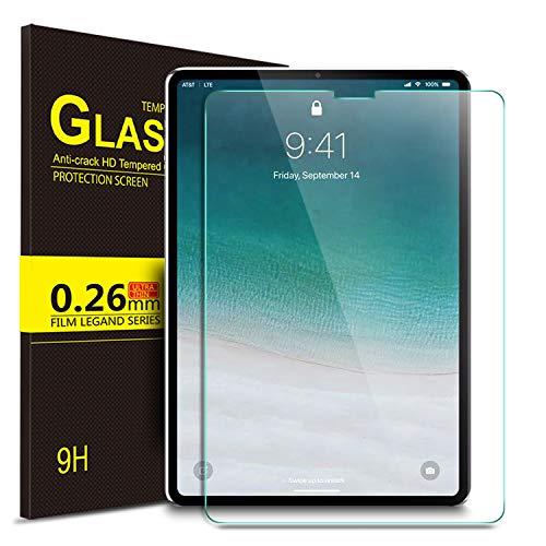 HD Ultra Delgado iPad Pro Alta Definicion OMOTON Apple iPad Pro 12.9 Inches Vidrio Templado Protector de Pantalla con 9H Dureza