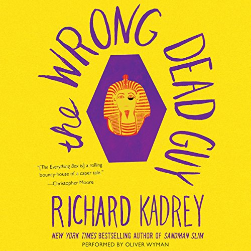 The Wrong Dead Guy audiobook cover art