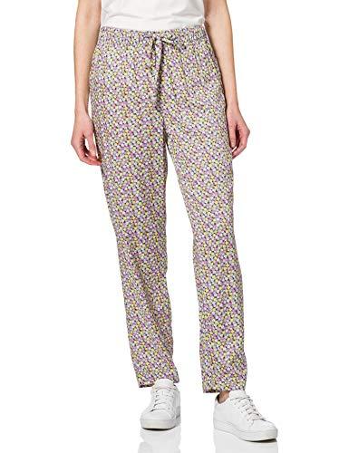 Vero Moda VMSIMONE N/W String Pants EXP GA Pantaln de Vestir, Color Azul Hielo/AOP: Carol, XL para Mujer