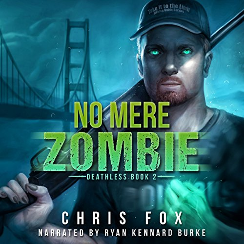 No Mere Zombie audiobook cover art