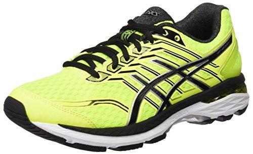 ASICS T707N0790, Zapatillas de Running para Hombre, Amarillo (Safety Yellow / Black / Silver), 40.5 EU