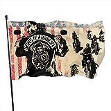 Bandera de jardín clásica para exteriores, diseño de Sons of Anarchy Garden