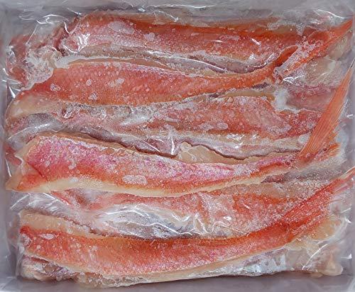 国産(宮城県産) 金目鯛 フィーレ 尾付き(1/2)500g(25枚)×20P 業務用 冷凍 きんめ鯛 フィレ