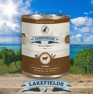Lakefields Dosenfleisch-Menü Lamm 800g (6 x 800g)