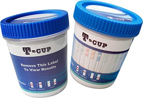 Affordable 5 Panel T-Cup Multi Drug Urine Test Kit (Multiple Quantities)(500)(COC/THC/OPI/mAMP/BZO)