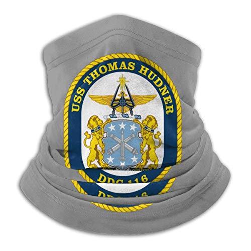 DFGHG USS Thomas Hudner DDG 116 Mikrofaser Halswärmer Schal Gamasche Kopfbedeckung Gesichtsmaske Bandanas