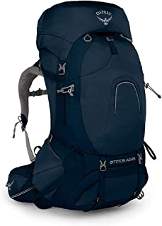 Osprey Europe Atmos AG 65 Men's Backpacking Pack - Unity Blue (MD)