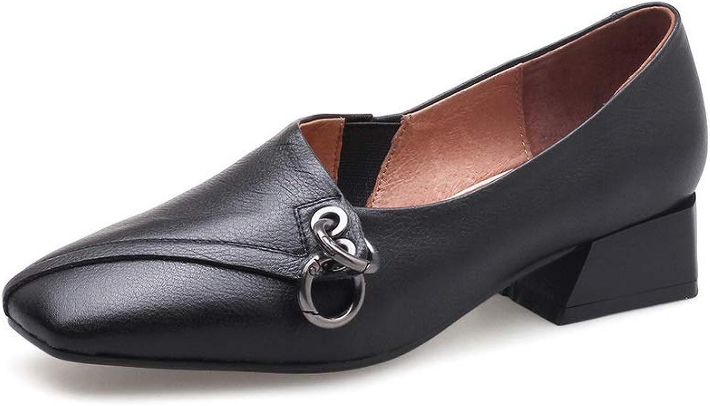 AdeeSu Womens Travel Solid Pumps-shoes Urethane Pumps shoes SDC06314