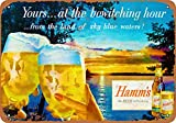 Boydf333o Tin Signs 1955 Hamm's Beer Bewitching Vintage