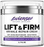 Anti Wrinkle Cream for Face - Retinol & Collagen Anti Aging Cream - Made in USA - Fine Lines & Wrinkle Repair - Retinol Cream for Face with Hyaluronic Acid Vitamin E - Face Moisturizer for Women & Men