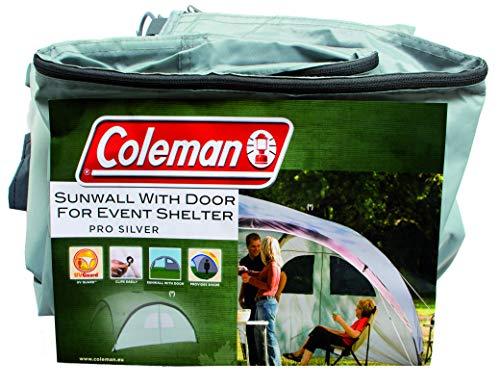 Seitenwand für Coleman Event Shelter XL und Event Shelter Pro XL 4,5 x 4,5 m, 1 Pavillon Seitenteil, Seitenplane, Sonnenschutz, wasserabweisend, silber