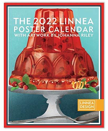"2022 Linnea Design Poster Calendar 11 x 14"" Artwork by Johanna Riley"