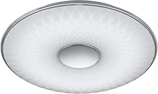 Trio Leuchten Lotus 6290101 lampa sufitowa LED, akryl biały, 45 W, regulacja jasności i barwy światła, funkcja lampki nocnej