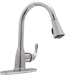 Glacier Bay Market Single-Handle Pull-Down Sprayer Kitchen Faucet in Chrome