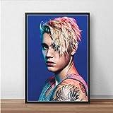 Justin Bieber Poster Leinwand Benutzerdefinierte Poster