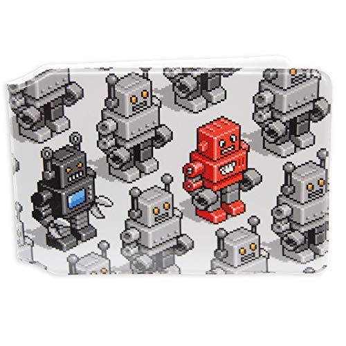 Pixel Robots Oyster Tarjetero