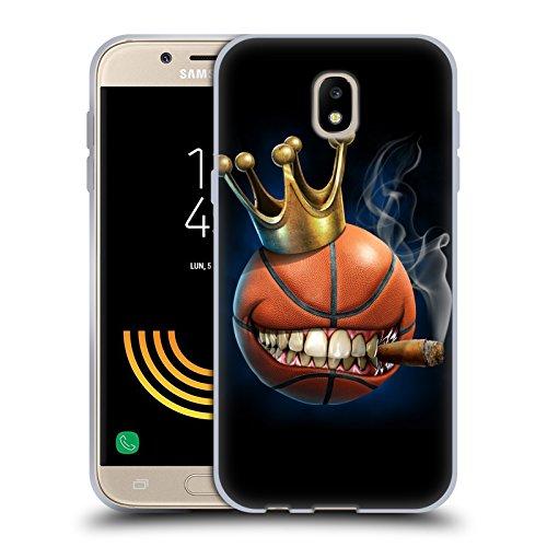 Head Case Designs Ufficiale Tom Wood Il Re del Basket Mostri Cover in Morbido Gel Compatibile con Samsung Galaxy J5 (2017)