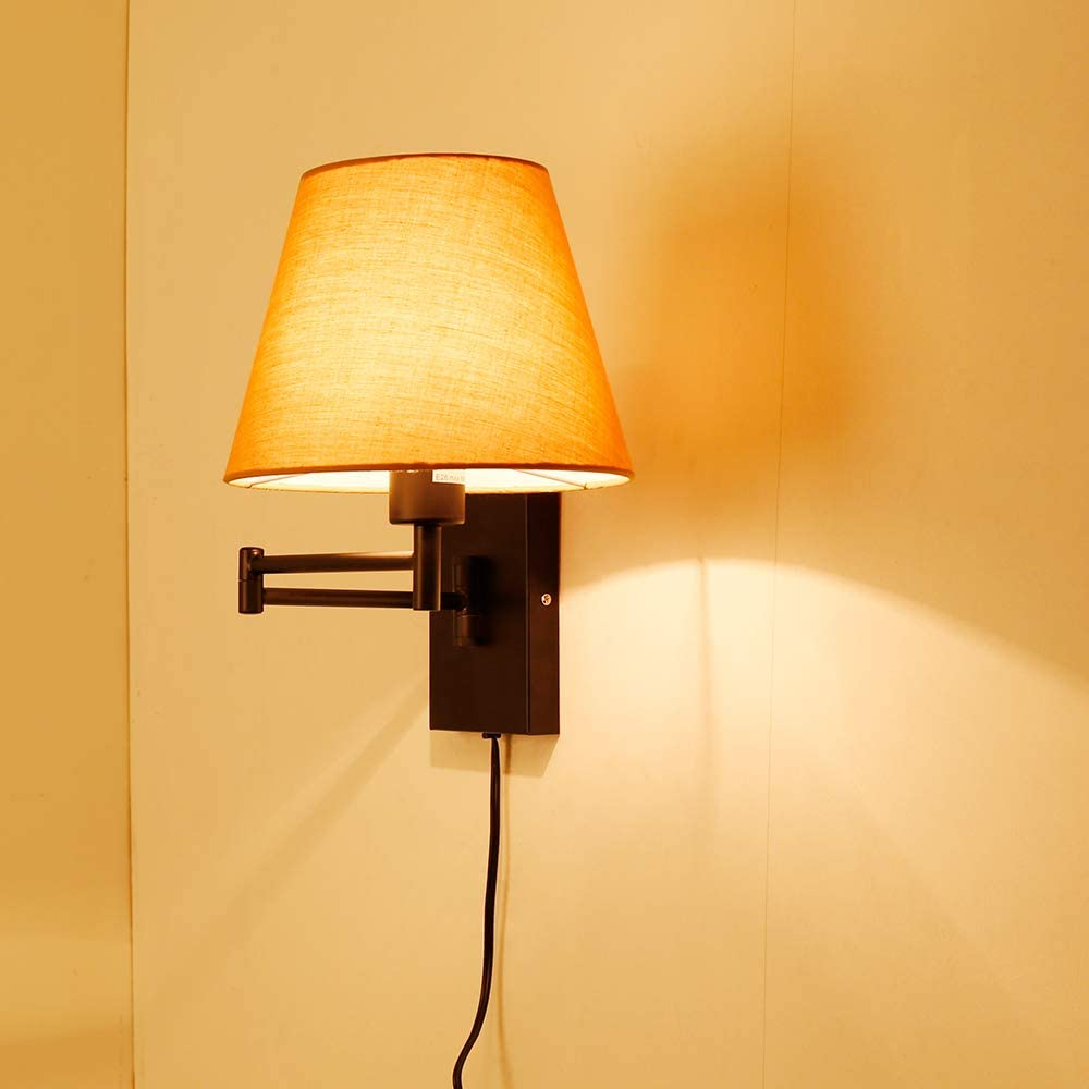 SPARKOR Baltimore Memphis Mall Mall Swing Arm Wall Lamp Decora Cord Plug-in Home 2