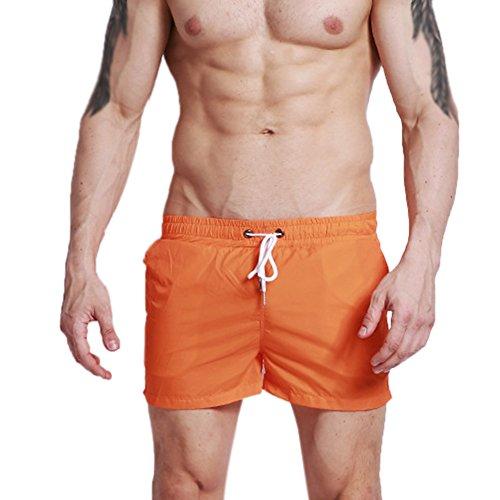Demarkt zwembroek voor heren, zwembroek, beachshorts met band, lichtblauw, XXL