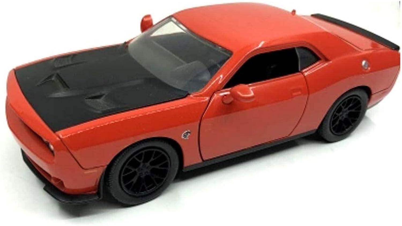 GAOQUN-TOY 1 24 Ausweichenherausforderer STR Ausweichenherausforderersimulations-Automodell (Farbe   rot, größe   19cm7.5cm5cm) B07MY2K4HF ein guter Ruf in der Welt   Qualitativ Hochwertiges Produkt