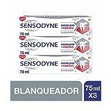 Sensodyne Sensibilidad & Encías - Blanqueador, pasta de dientes con...