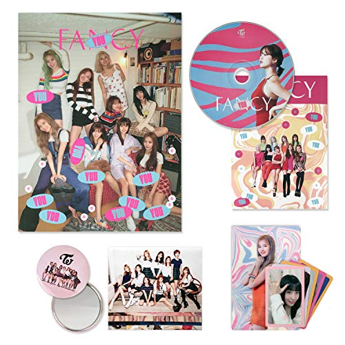 TWICE 7th Mini Album - FANCY YOU [ C ver. ] CD + Photobook + Lenticular Card + Photocards + Sticker + FREE GIFT