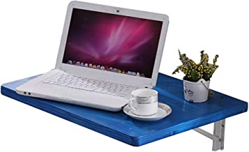 Laptop Computer Notebook Life Portable Folding Desk Table Stand Bed Tray,Non-Slip Multi-Purpose Cup Card Slotpp Plastic Plate Material Panel Modern Simplicity Style Design,for Play Games Bed,Blue