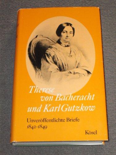 Buchseite und Rezensionen zu 'Unveröffentlichte Briefe' von Therese von Bacheracht